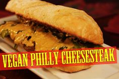 Vegan Philly Cheesesteak Sandwich -  The Vegan Zombie