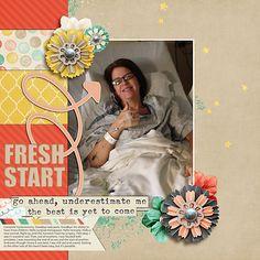Fresh Start   Simple Scrapper   Kimberly Kalil Designs