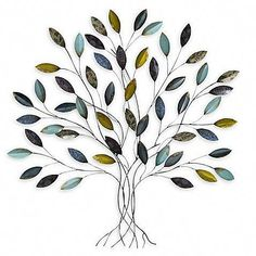 Metal wall art makes a stylish statement in any room. Visit Bed Bath & Beyond for creative and unique metal wall decor, including metal tree wall art, metal flower wall art, and more. Shop now. Tree House Decor, Tree Wall Decor, Wall Art Decor, Home Decor, Metal Tree Wall Art, Metal Wall Decor, Metal Art, Tree Sculpture, Wall Sculptures