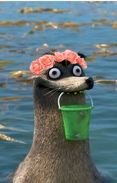 Gerald Finding Dory Flower Crown