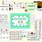 """Bear Wants More"":  Speech & Language Activities is designed to be used with the story ""Bear Wants More"" by Karma Wilson and Jane Chapman.  Vocabulary, comprehension, rhyming, verbs, and open ended games!"
