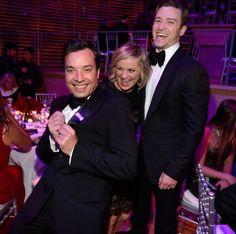 Jimmy Fallon, Amy Poehler, and Justin Timberlake: