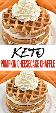 Low Carb Desserts, Low Carb Recipes, Low Carb Pumpkin Cheesecake, Caramel Cheesecake, Cheesecake Recipes, Keto Chili Recipe, Chili Recipes, Waffle Maker Recipes, Keto Waffle