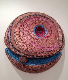 "Federico Uribe | ""Song Lines"" | color pencils | 50x50 #art #scultpure #color #pencils"