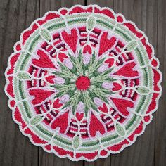 crochet mandala - Google Search