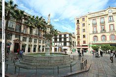 Plaza de la Constitución en Málaga (c) MFO