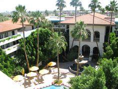 One of many pools    Arizona Grand Resort