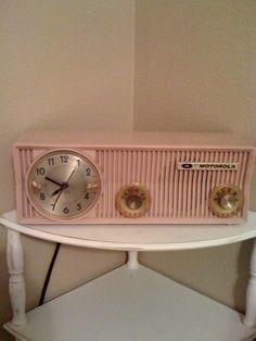 Vintage Pink Motorola
