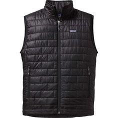 Patagonia Men's Nano Puff Vest - Large - Black #vestsmen