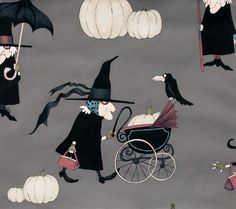 Alexander Henry, Witchy Woman Smoke  for the shops' halloween section
