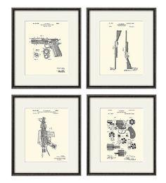 Gun art vintage Patent print military art print patent poster gun wall art vintage gun gifts gun decor Weapon art gun print firearms art 10 Frame, Gun Decor, Masculine Art, Gun Art, Art Vintage, Patent Drawing, Patent Prints, Military Art