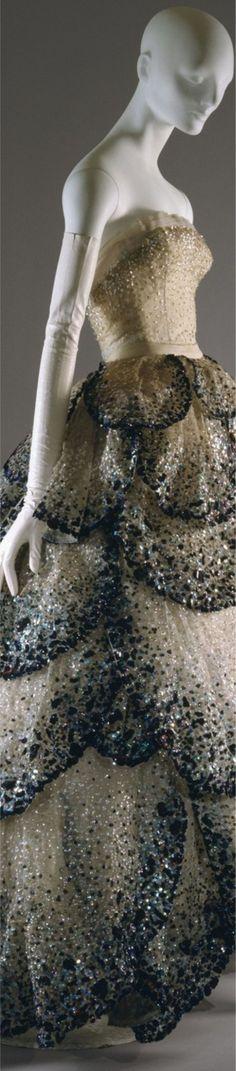 'Junon' Evening Dress by Christian Dior Autumn/Winter 1949-50