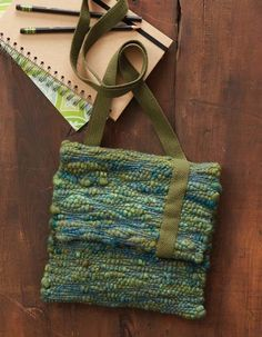 Learn how this adorable satchel is made in the November/December 2016 issue of Handwoven.