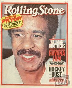 Richard Pryor, one of the greatest comics that every lived.