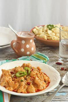 Juditka konyhája: ~ BAKONYI KARFIOL ~ Hungarian Recipes, Risotto, Curry, Tasty, Ethnic Recipes, Food, Fitness, Contouring, Curries