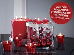 A perfect holiday addition.  Shop Now: www. Partylite.biz/ Latraile Akins