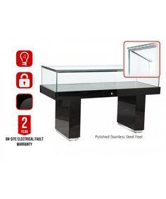1500mm Wooden Glass Display Plinth-pl-1500-31