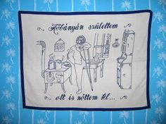 Kőbányán születtem Reusable Tote Bags, Embroidery, Wall, Dashboards, Scrappy Quilts, Needlepoint, Walls, Crewel Embroidery, Embroidery Stitches