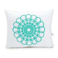 I pinned this Doily Block Print Accent Pillow from the artgoodies event at Joss and Main!