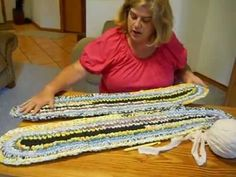 Oval Rag Rug for Beginners                                                                                                                                                                                 More