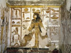 Egyptian Thebes | Valley of the Queens | Egypt, Thebes, Luxor, Valley ... | Ancient Egy ...