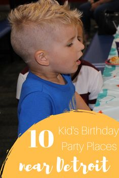 10 Birthday Party Places for Kids Near Detroit - Kiddo Korner Birthday Party Places, Fall Birthday Parties, Frozen Birthday Party, Birthday Party Themes, 10 Birthday, Birthday Ideas, Kids Party Themes, Party Activities, Party Ideas