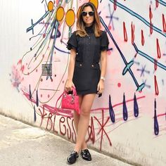 """""""Agora o look completo ☺️ Não sei se estou mais apaixonada pelo conjunto @bynv ou pela bolsa Dior para @brechodosachados  #lookdodia #ootd #comfy…"""""""