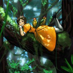 ジェーンと木   とくなが3046 [pixiv]