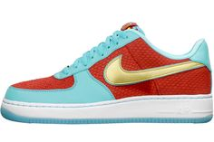 """Nike AirForce 1 done up for the """"Year of the Dragon"""". Available, of course, only in Japan. $300.00"""