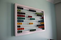 Make An Awesome Over-Sized Abacus Anything Pretty | Apartment Therapy