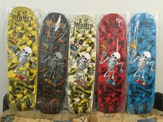 Collection OldScholl Skateboard Deck Art