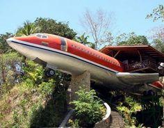 Um hotel diferente na Costa Rica.