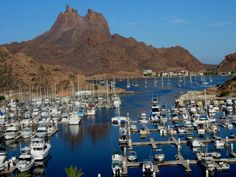 Yatch club, San Carlos, State of Sonora. Mexico