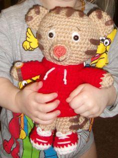 DISCOUNT Bundle  Crochet Daniel Tiger and Tigey by YarnForRowyn 97d1a3ebe7c
