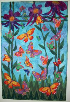 art quilts   Quilts sold or given as gifts.