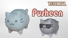 Tutorial Pusheen el gato en Plastilina | Pusheen the cat Clay Tutorial