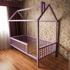 Детская кровать-домик из дерева. Детская мебель, кровать дом Никополь - изображение 1