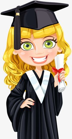 Buy Girl in Cap Holding a Scroll Diploma by azuzl on GraphicRiver. Cute girl in cap and gown graduate holding a scroll diploma Graduation Clip Art, Graduation Crafts, Graduation Theme, Graduation Photos, Graduation Cap Clipart, Cap Girl, Cute Clipart, Girl Clipart, Girl Silhouette