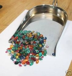 OVER 25CTS OF GEMS, RUBIES, SAPPHIRES, & EMERALD MIX