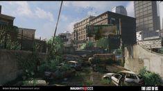 ArtStation - The last of us - Hunter City - underpass area, Artem Brizitskiy