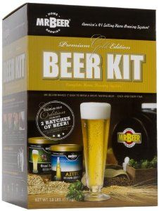 Mr. Beer Premium Gold Edition Beer Kit #fathers Day Gift (Amazon) $42.90