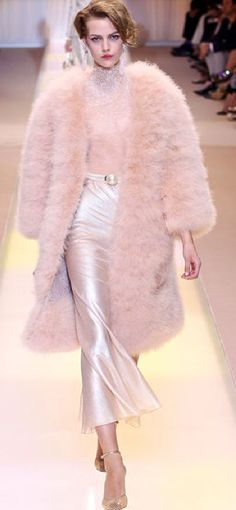 Armani Prive --gotta love that pink fluff