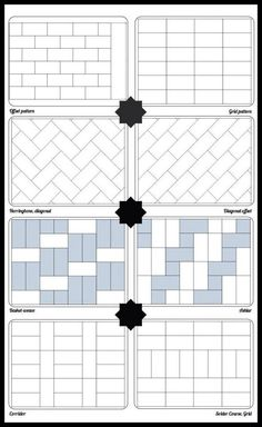 Subway Pattern a new take on standard subway tile | industrial, patterns and tile