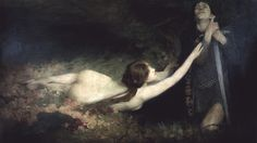 """Laurence Koe, """"Venus and Tannhauser"""" Courtesy: Wonderful, Beautiful, and Strange Finds"""