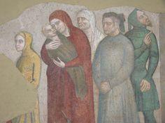 Castel Nuovo - La cappella Palatina - Affreschi dal Castello del Balzo di Casaluce (14)