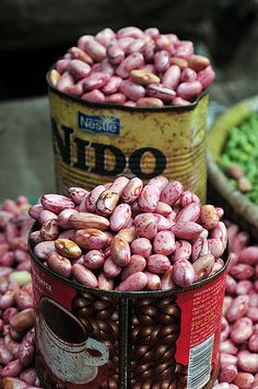 Bean market in Kampala, Uganda   Neil Palmer (CIAT).