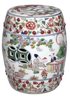 Garden Stools, Side Tables, Chinese Porcelain Art, simply adorable, over 3,000 beautiful limited production interior design inspirations inc, furniture, lighting, mirrors, tabletop accents and gift ideas to enjoy pin and share at InStyle Decor Beverly Hills Hollywood Luxury Home Decor enjoy & happy pinning