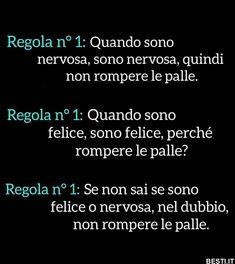 Regola n°1