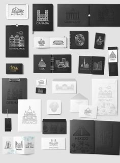 80 Landmarks Line Icons - Flat line design style vector illustration icons set and logos of top tourist attractions Icons set includes 16 big countries. The solution of the most laconic visual representation of each city was in the wall-known touristic attracrion: monuments, buldings and objects. Line icons suitable for ui, web, infographics and apps. By Tettygreen $11. #affiliatelink