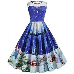 LightInTheBox - Maailmanlaahuinen nettikauppa mekoille, koti ja puutarha -tuotteille, elektroniikalle, ja häätarvikkeille Women's A Line Dresses, Types Of Dresses, Knee Length Dresses, Blue Dresses, Short Sleeve Dresses, Summer Dresses, Cheap Party Dresses, Party Dresses Online, Midi Dresses Online